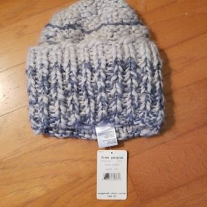 NWT Free People Limitless Cuffed Knit Beanie Hat